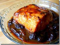 roti de porc aux pruneaux et miel