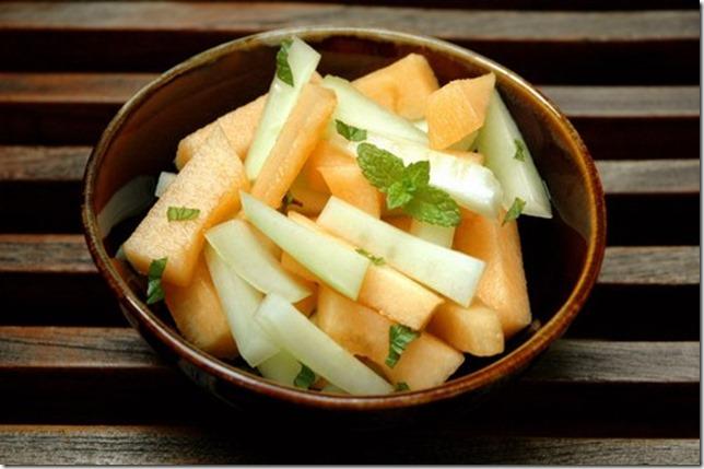 salade concombre melon