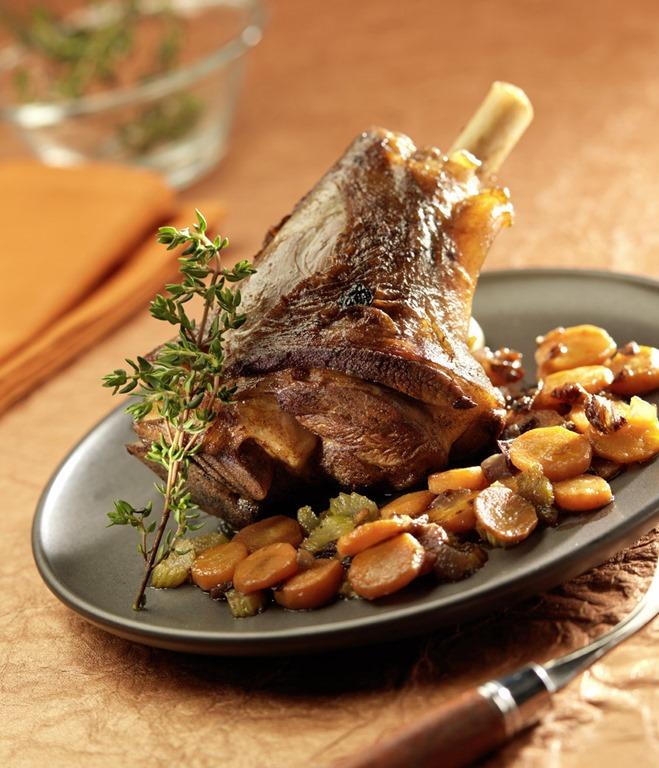 La souris d agneau caram lis e et fenouil brais my - Comment cuisiner la souris d agneau ...