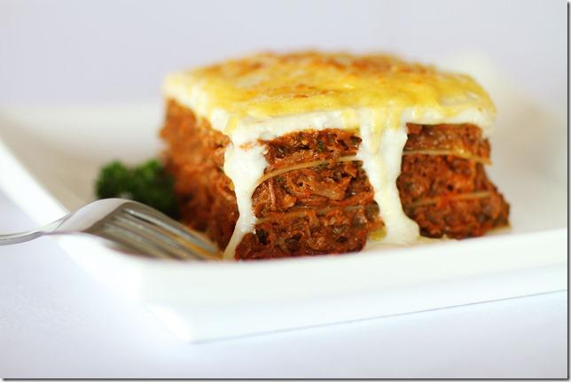 lasagne au ragout