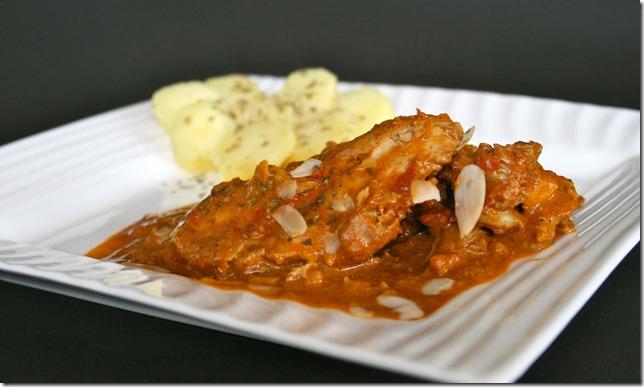 poulet à l'indienne
