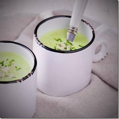 soupe de petits pois