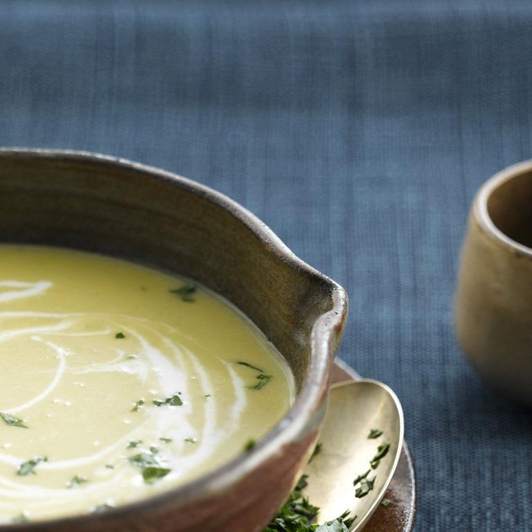 soupe d endives au jambon cro tons l ail my beautiful world. Black Bedroom Furniture Sets. Home Design Ideas