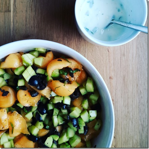 Salade de concombres et melonIMG_20160809_085634