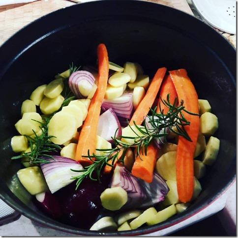 legumes d'hiver au romarin