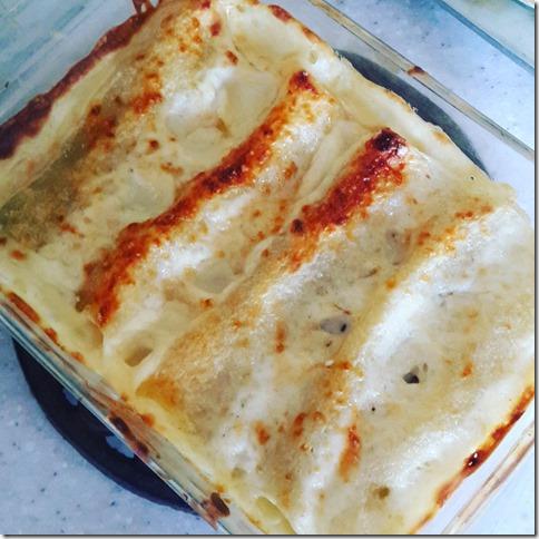 Cannelloni aux artichauts