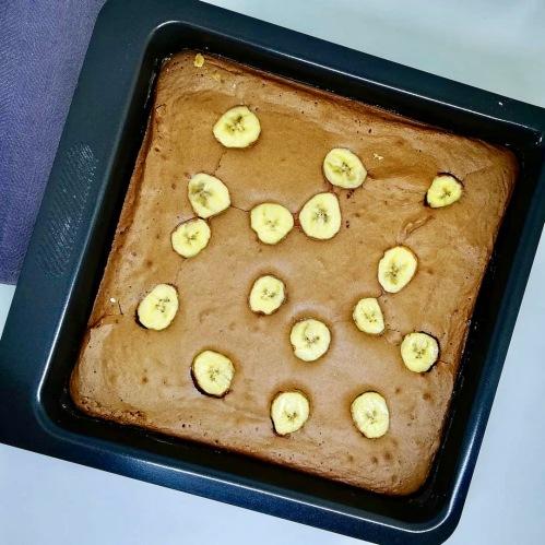 Gâteau choco banane (1)