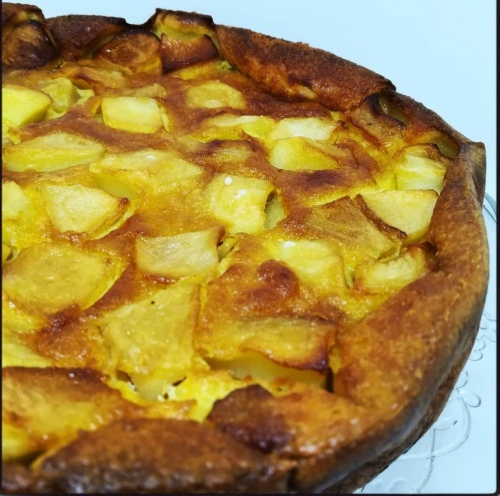 clafoutis pommes pruneaux